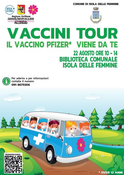 Vaccini Tour: domenica 22 agosto la seconda tappa!